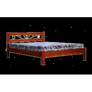 """Кровать деревянная """"Икея"""" с ковкой"""