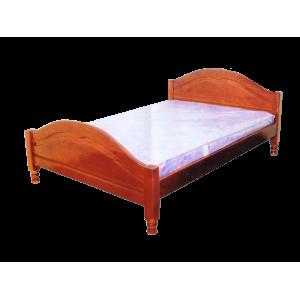 """Кровать деревянная """"Филенка"""" без шаров"""
