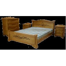 """Комплект """"Соната"""" -  Кровать, 2 тумбы, комод"""