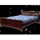 """Кровать деревянная """"Классика"""" с ковкой"""