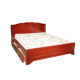 """Кровать деревянная """"Муза"""" с ящиками"""