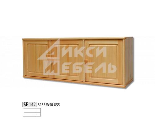"Антресоль  деревянная трехстворчатая ""Витязь"" 142"
