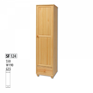 "Шкаф деревянный ""Витязь"" 124"