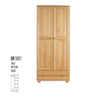 "Шкаф деревянный ""Витязь"" 107"