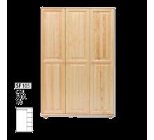 "Шкаф деревянный ""Витязь"" 105"