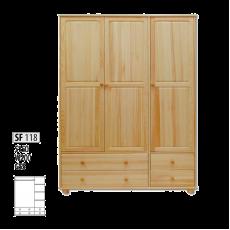 "Шкаф деревянный ""Витязь"" 118"