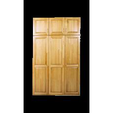 Шкаф деревянный 3-х створчатый с антресолью