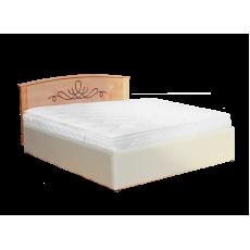 """Кровать  деревянная """"Нова"""" (кожа)"""
