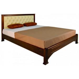 """Кровать """"Омега"""" прямая мягкая вставка"""