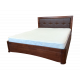 """Кровать деревянная """"Изабелла"""" с мягкой спинкой"""