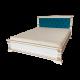 """Кровать  деревянная """"Фореста"""" с  вставкой"""